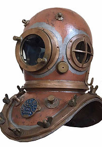 Galeazzi Antique Diving Helmet