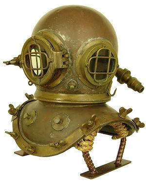 Bullhead Diving Helmet Display Stand Example John Date