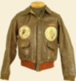 Example Of An AAF Type A2 Leather Flight Jacket