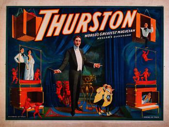 Thurston World's Greatest Magician Poster