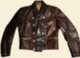 WWII German Luftwaffe Leather Pilot Jacket
