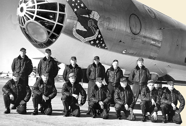 Image Of US Air Force SAC Flight Crew