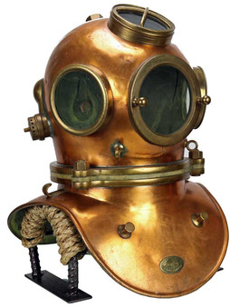 Rare Petit French Diving Helmet