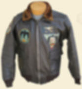 Image Of A G-1 Leather Jacket
