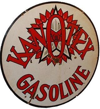 Kanotex Gasolin Sign
