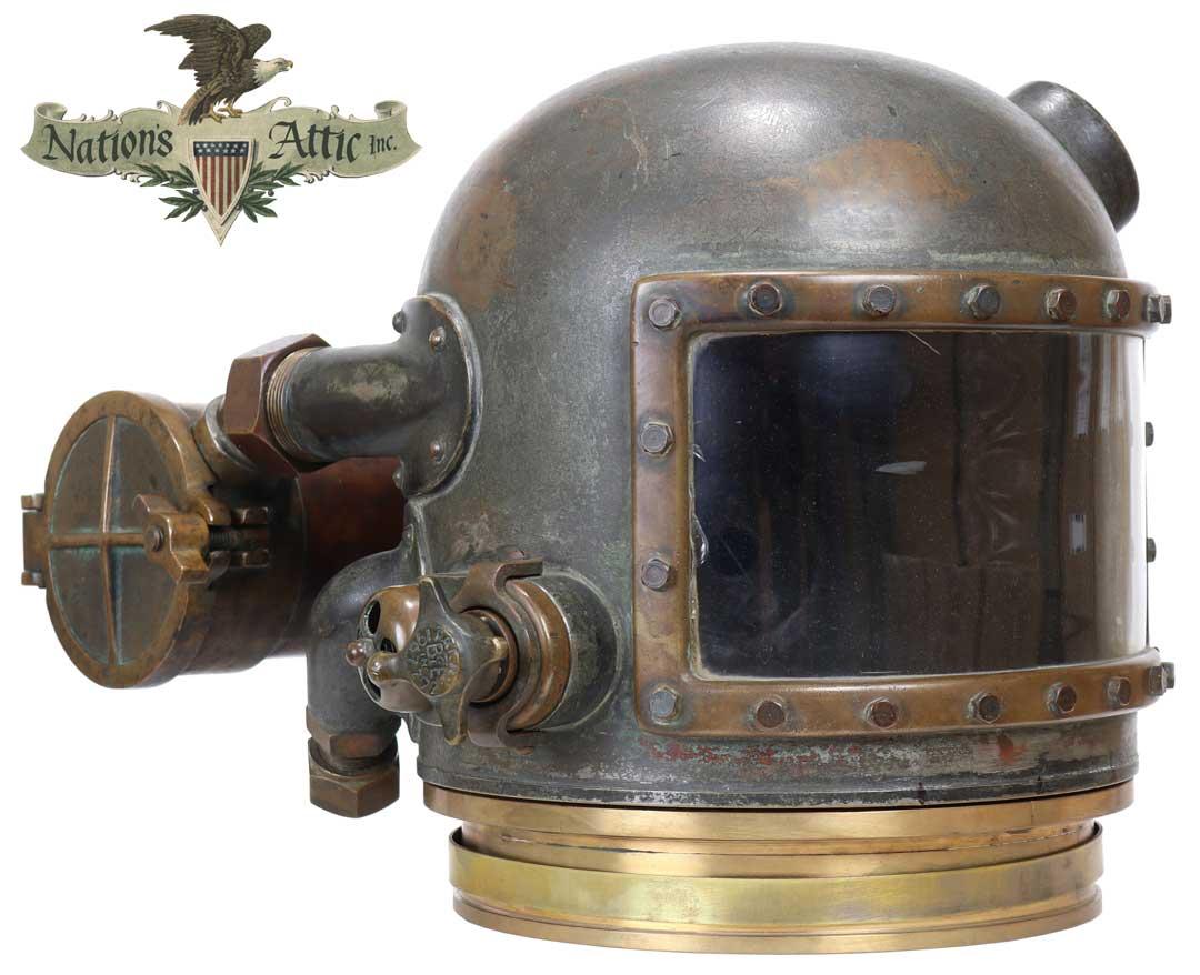 Browne Gas Helmet