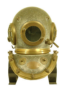 Siebe Gorman Antique Diving Helmet