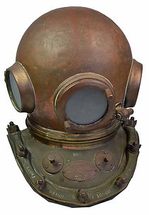 C.E. Heinke Antique Diving Helmet