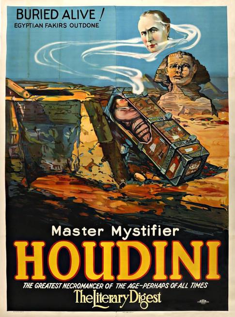 Buried Alive Houdini Master Mystifier