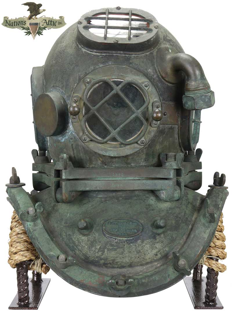 Morse 5 Bolt Diving Helmet
