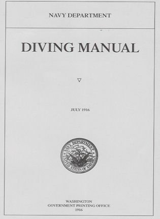 1916 US Navy Diving Manual