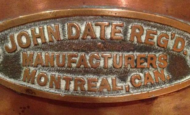 John Date Reg'D. Manufcturers Montreal, CAN