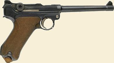 German Lugar Pistol