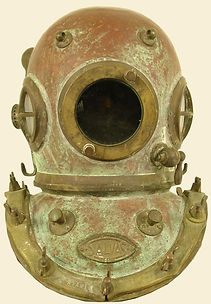 Salvas Italy Antique Diving Helmet