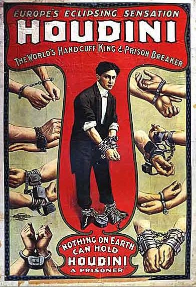 Houdini Handcuff King & Prison Breaker