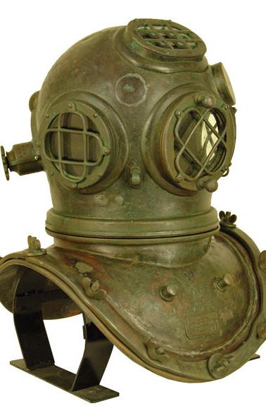 A. Schrader's Son Mark IV Diving Helmet