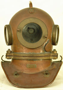 Soviet Russian Antique Diving Helmet