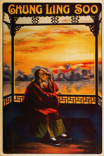 Chung Ling Soo Poster