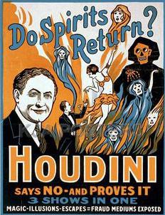 Do Spirts Return? Houdini
