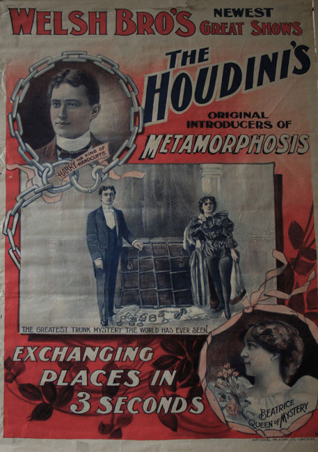 The Houdini's Metamorphosis