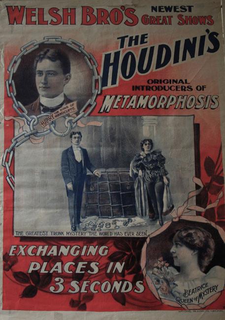 The Houdini's Metamorphosis