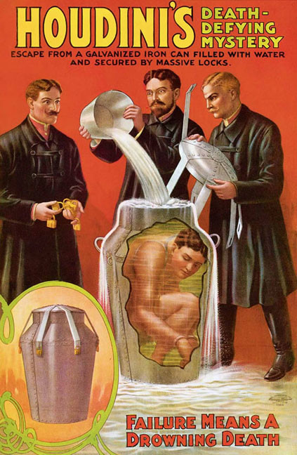 Houdini's Milk Can Escape