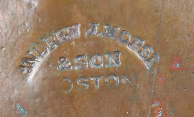 Andrew J. Morse & Son Boston Diving Helmet Stamp