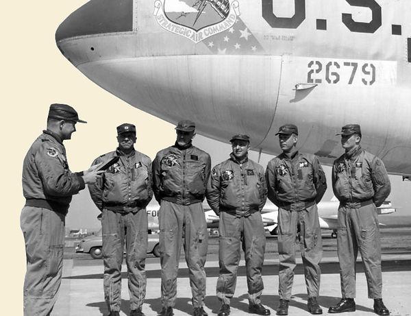 Image Of A Strategic Air Command Flight Crew