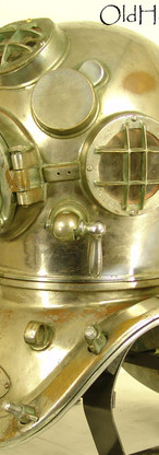 1945 US Navy Mark V Diving Helmet
