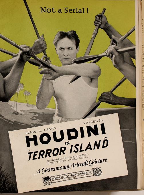Houdini in Terror Island