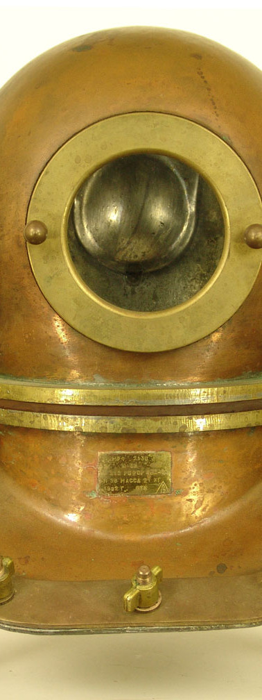 Soviet 3 Bolt 12 Bolt Diving Helmet