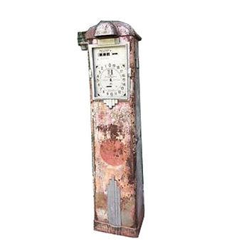 Clock Face Gas Pump