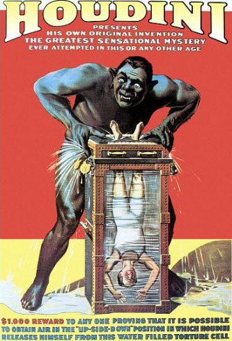 Houdini Water Torture w/ Monster