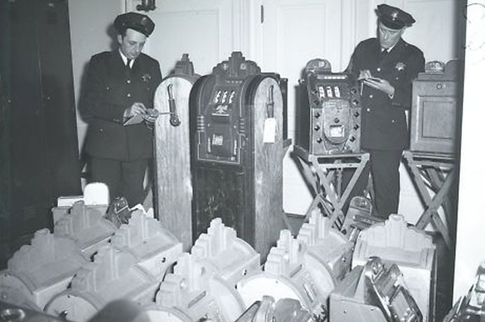 Police Inventorying Slots