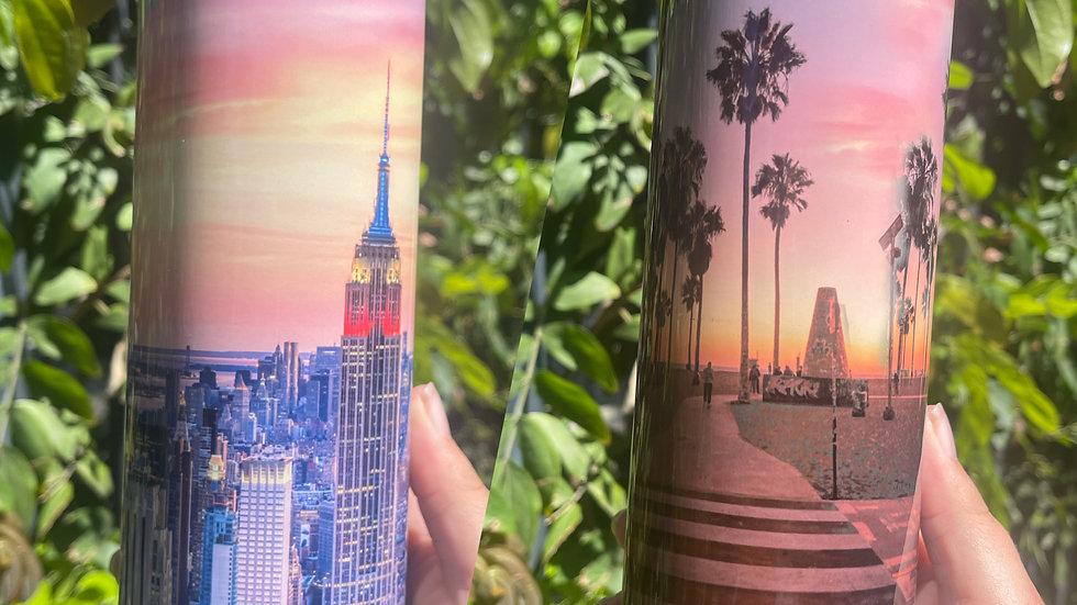 LA to NY Tumbler
