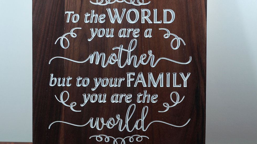 You are the World Mother Sign