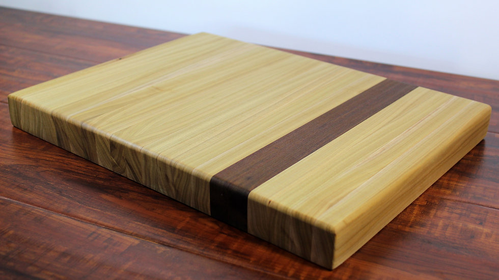 Maple and Ironwood Vertical Cutting Board