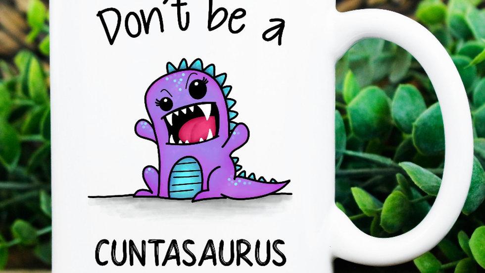 """""""Don't be a...Dinosaur"""" Mug"""