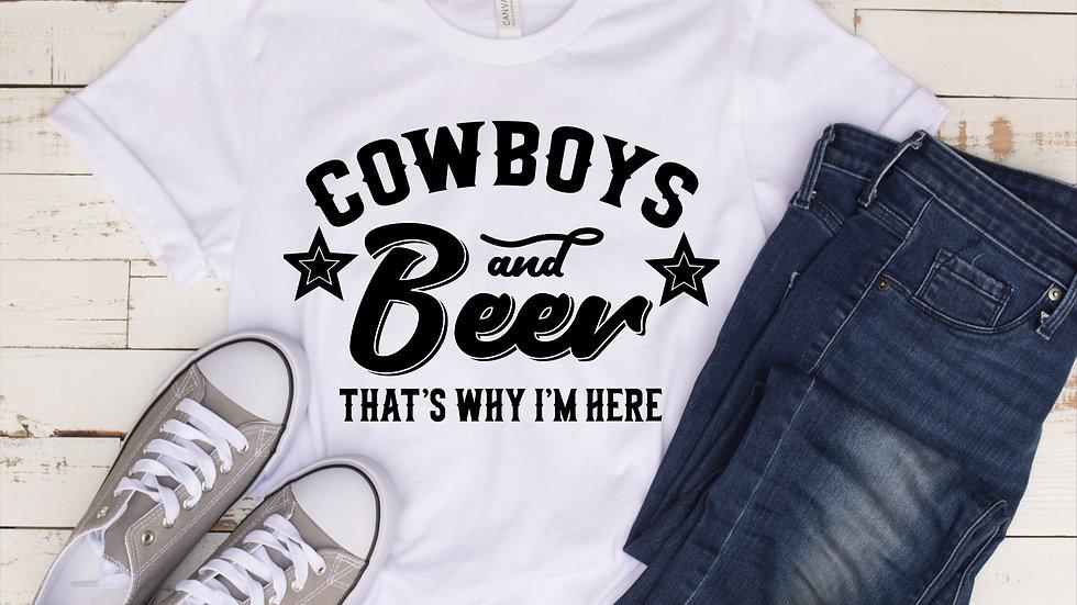 Cowboys and Beer T-Shirt