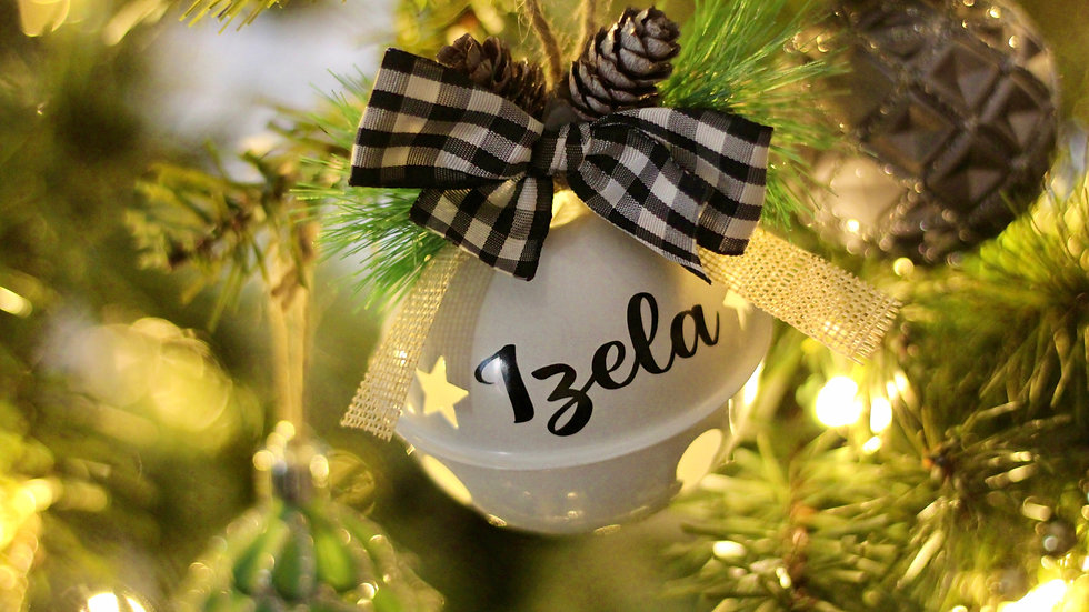 Personalized Bell Ornaments