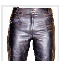 RS Leathers Womens Cowhide Leather Jeans