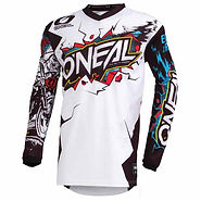Oneal Element Youth Top Villian White.jp