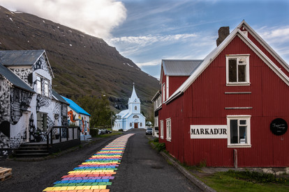 Downtown Seydisfjordur