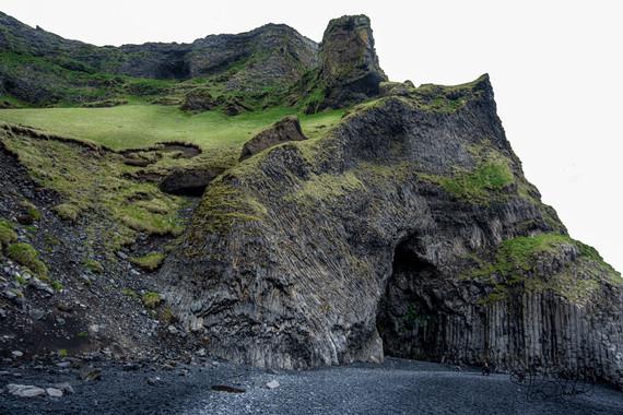 Hálsanefshellir Cave & Basalt Columns