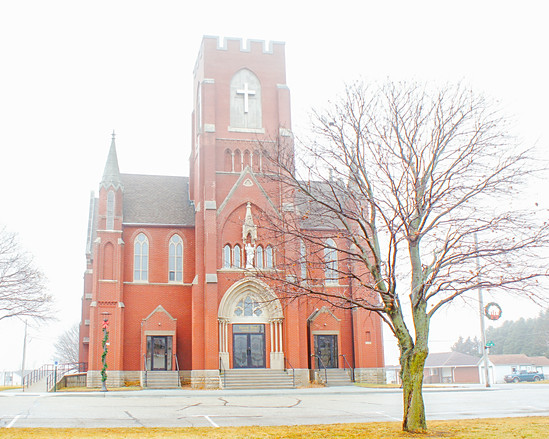 Sacred Heart Church Templeton Iowa