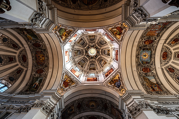 Salzburg Cathedral - The Dome