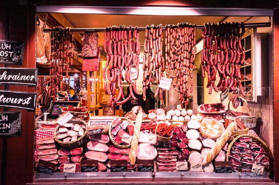 Vienna Christmas Market - Sausages
