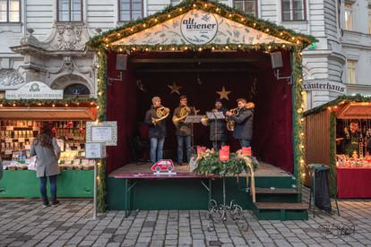 Vienna Christmas Market (Weihnachtsmarkt) - Horns
