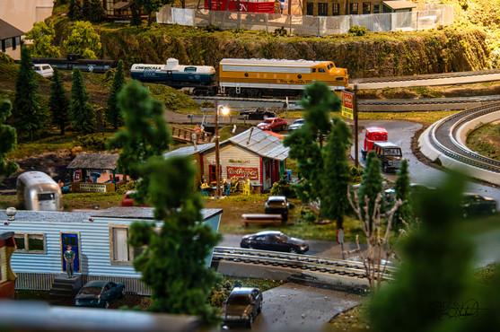 Model Train  Diner
