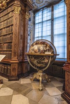 Melk Abbey - Library Globe